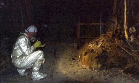 チェルノブイリ原発事故-象の足