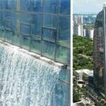 その高さは108メートル。世界一高い人口滝が中国のビルに建設される。