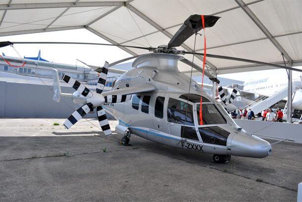 世界で最も早いヘリコプター