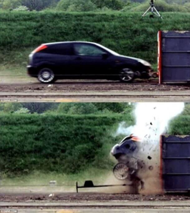 世界で最も早い自動車安全テスト