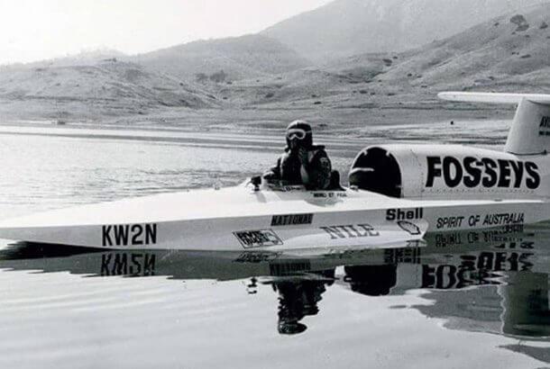 世界で最も早いボート
