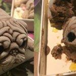 ゾゾゾ。食べる前は可愛いのに食べ始めると途端に怖くなるブルドッグ型アイスが販売へ(台湾)