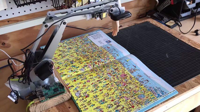 ウォーリーを探すAIロボット