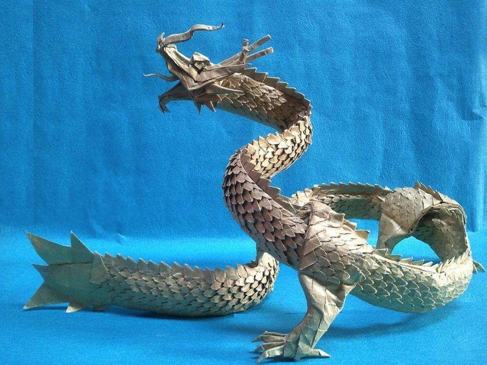 折り紙-ドラゴン