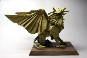 折紙-グリフォン