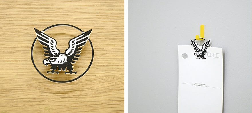 大正製薬のロゴを3D印刷した雑貨