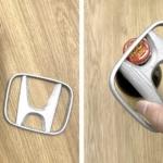 ナイキにホンダ・マクドナルドなど、有名企業のロゴを3Dプリントしてデザインされた雑貨コンセプトが面白い。