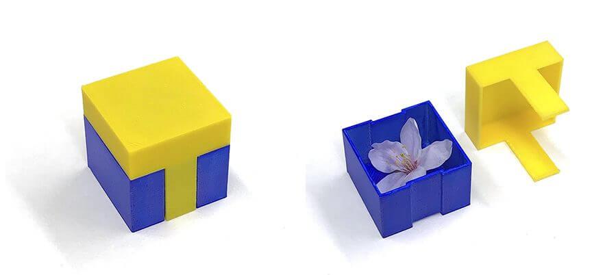 Tポイントカードのロゴを3D印刷した雑貨