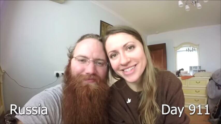 髭を2年半剃らなかった男性-911日目
