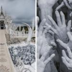 世界一美しいお寺を目指すよ。完成まで90年はかかるタイの真白いお寺「ワット・ロンクン(ホワイト・テンプル)」