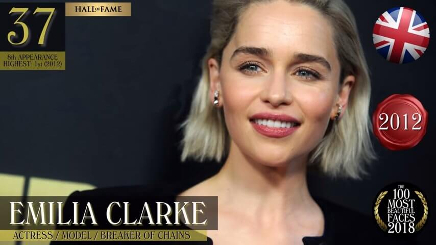世界で最も美しい顔の女性ベスト100-2018