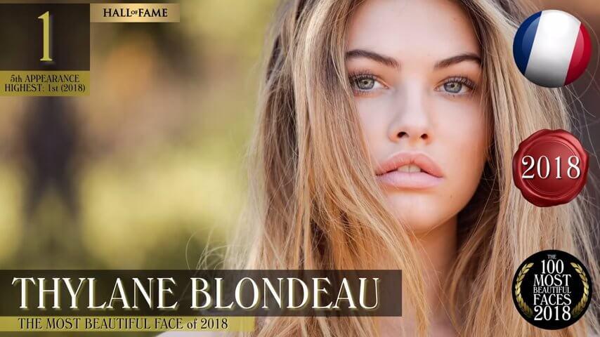 世界で最も美しい顔の女性ベスト100-2018-ティラーヌ・ブロンドー