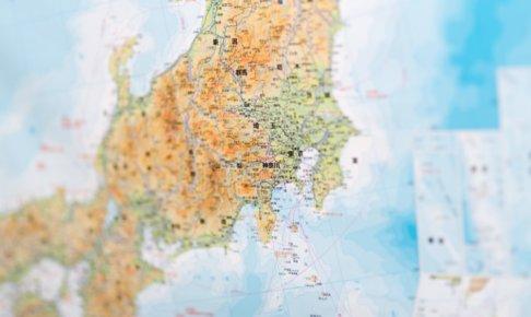地図-神奈川県