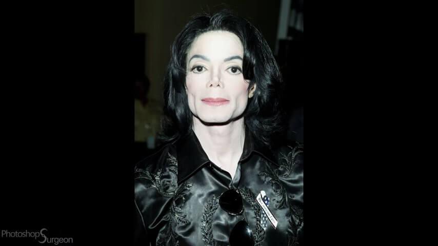 色白のマイケル・ジャクソン